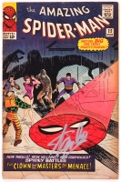 "Stan Lee Signed Vintage 1965 ""The Amazing Spider-Man"" Issue #22 Marvel Comic Book (PSA COA)"