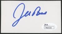 Jeb Bush Signed 2x4 Cut (JSA COA)