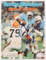 "Earl Campbell Signed 1978 Sports Illustrated Magazine Inscribed ""HOF 91"" (JSA COA)"