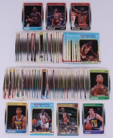 Complete Set of (143) 1988-89 Fleer Basketball Cards With #17 Michael Jordan, #20 Scottie Pippen, #43 Dennis Rodman RC, John Stockton RC, #57 Reggie Miller RC
