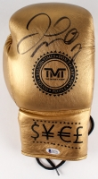 Floyd Mayweather Jr. Signed TMT Boxing Glove (Beckett COA)
