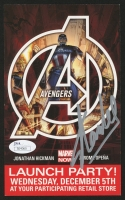 "Stan Lee Signed ""Avengers"" Launch Party Ad (JSA COA)"
