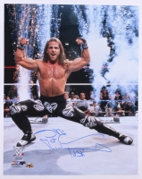 """Shawn Michaels Signed WWE 16x20 Photo Inscribed """"HBK"""" (MAB)"""