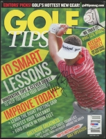 Keegan Bradley Signed 2011 Golf Tips Magazine (PSA COA)