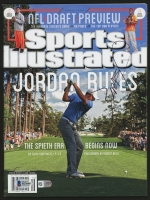 Jordan Spieth Signed 2015 Sports Illustrated Magazine (Beckett COA)