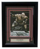 "Bill Goldberg Signed WWE 13"" x 16"" Custom Framed Photo Display (Beckett COA)"