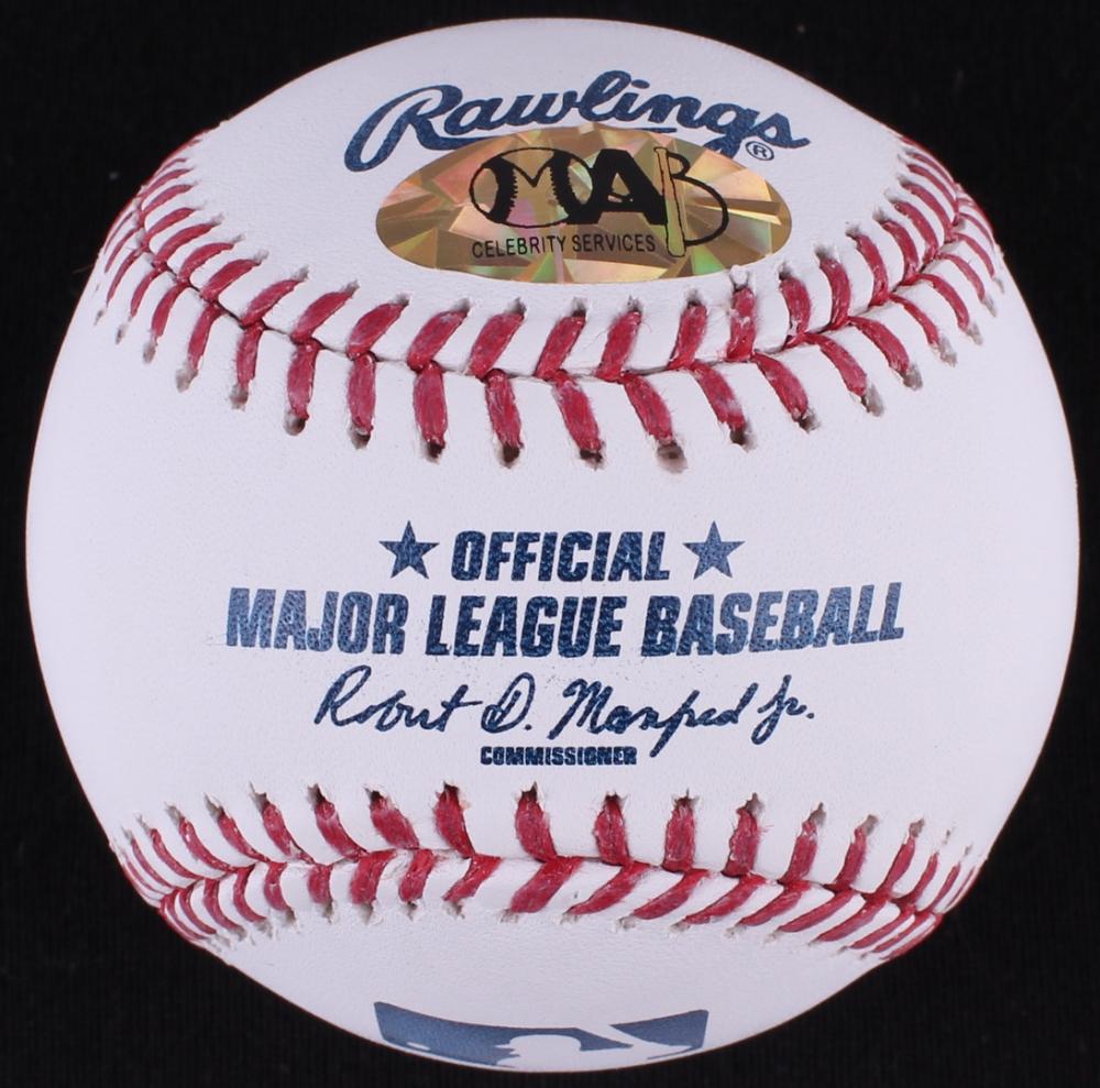 c4c804c97d1 Derek Lowe Signed OML Baseball Inscribed