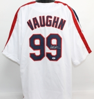 "Charlie Sheen Signed ""Major League"" Indians Jersey (PSA COA)"