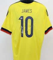 James Rodriguez Signed Team Colombia Jersey (PSA COA)