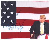 Donald Trump Signed 11x14 Photo (JSA ALOA)