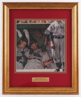 "Norman Rockwell ""The Dugout"" 15.5x18.5 Custom Framed Print Display"
