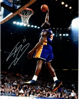 Shaquille O'Neal Signed Los Angeles Lakers 16x20 Photo (Steiner COA) at PristineAuction.com