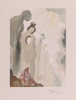 Salvador Dali Signed 10x13 'The Second Cornice' Giclee on Fine Art Paper (JSA LOA)