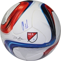 Clint Dempsey Signed 2015 Adidas Nativo Match Soccer Ball (Steiner COA)