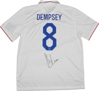 Clint Dempsey Signed Team USA Jersey (Steiner COA)