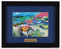"LeRoy Neiman ""Fishing"" 13x16 Custom Framed Print Display"