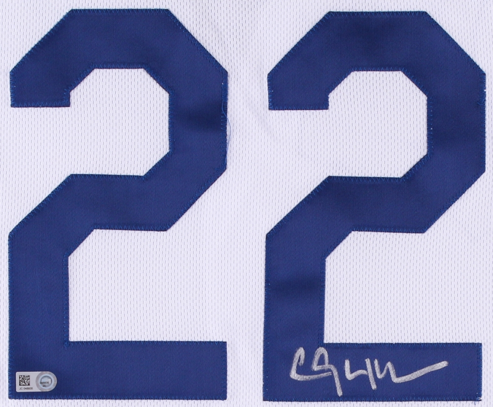 Clayton Kershaw Signed Dodgers Authentic Majestic Jersey (MLB Hologram) at  PristineAuction.com 0c930ed0f80