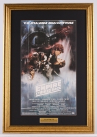 "Vintage 1978 ""Star Wars: The Empire Strikes Back"" 17.75x25.75 Custom Framed Movie Poster Photo Display"