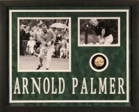 Arnold Palmer Signed LE 22x28x2 Custom Framed Golf Ball Shadowbox Display (JSA ALOA)