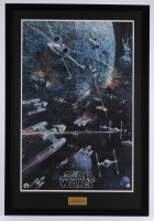 "Vintage 1977 ""Star Wars"" 27.5x40 Custom Framed Poster"