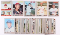 Lot of (65) 1970 Topps Baseball Cards with #10 Carl Yastrzemski, #61 Roberto Clemente, #290 Rod Carew, #300 Tom Seaver