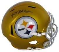 Antonio Brown Signed Steelers Full-Size Blaze Speed Helmet (JSA COA)