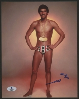 Mark Spitz Signed Team USA 8x10 Photo (Beckett COA)