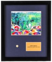 "LeRoy Neiman ""Augusta National"" 16x19 Custom Framed Print Display with Masters Pin"