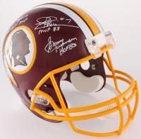 Redskins Full-Size Helmet Signed by (5) with Billy Kilmer, Mark Rypien, Joe Theisman, Sonny Jurgensen & Doug Williams with (4) Inscriptions (JSA COA)