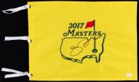 Jason Day Signed 2017 Masters Pin Flag (JSA COA)