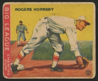 1933 Goudey #119 Rogers Hornsby Field RC