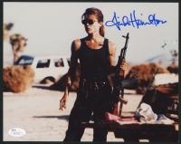 Linda Hamilton Signed 8x10 Photo (JSA COA)