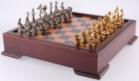 Vintage Baseball Chess Set