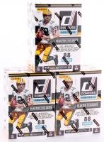 Lot of (3) 2016 Donruss Football 11-Pack Box