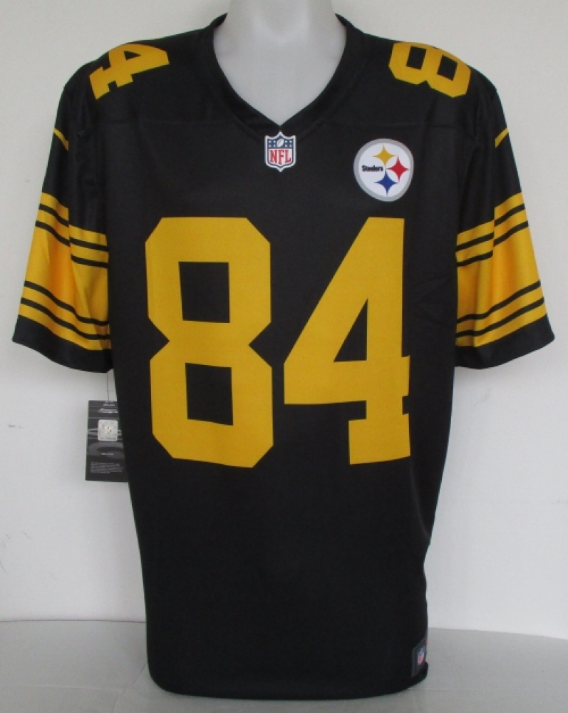 98c70243385 Antonio Brown Signed Pittsburgh Steelers Nike Replica Color Rush Jersey (JSA  COA) at PristineAuction