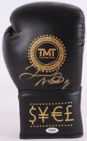 Floyd Mayweather Jr Signed TMT Boxing Glove (PSA COA) at PristineAuction.com