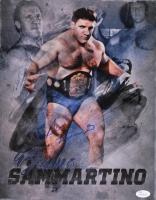 Bruno Sammartino Signed WWE 11x14 Photo (JSA COA)