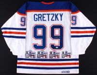 Wayne Gretzky Signed Oilers CCM Stanley Cup Jersey (JSA LOA)