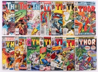 """Lot of (14) Vintage """"The Mighty Thor"""" Comic Books"""