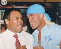 Hulk Hogan Signed WWE 16x20 Photo (JSA COA)