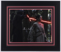 "Daisy Ridley Signed ""Star Wars: The Force Awakens"" 23.5x27.5 Custom Framed Photo (Beckett COA)"