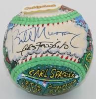 "Bill Murray Signed ""Caddyshack"" Baseball Hand-Painted by Charles Fazzino (Beckett COA)"