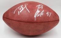 "Tom Brady & Rob Gronkowski Signed ""The Duke"" Official NFL Game Ball (Fanatics & TriStar Hologram)"