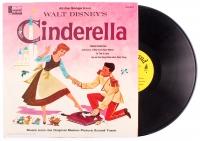 "Vintage 1957 Walt Disney's ""Cinderella"" Vinyl Record at PristineAuction.com"