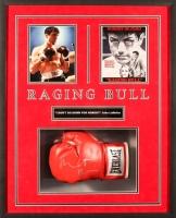 "Robert De Niro Signed Raging ""Bull Boxing"" Glove 26x32x4 Custom Framed Shadowbox Display (JSA ALOA)"