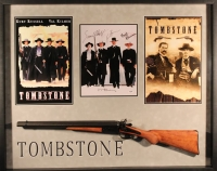 "Kurt Russell, Val Kilmer, Bill Paxton & Sam Elliott Signed ""Tombstone"" 33x41x2 Custom Framed Shadowbox Display (PSA LOA)"