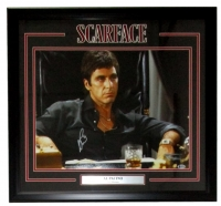 "Al Pacino Signed ""Scarface"" 22x27 Custom Framed Photo Display (Beckett Hologram)"