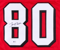 Jerry Rice Signed 49ers Jersey (Beckett COA) at PristineAuction.com