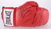 Floyd Mayweather Jr. & Conor McGregor Signed Boxing Glove (Beckett COA & JSA ALOA) at PristineAuction.com