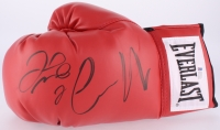 Floyd Mayweather Jr. & Conor McGregor Signed Boxing Glove (Beckett COA & JSA ALOA)